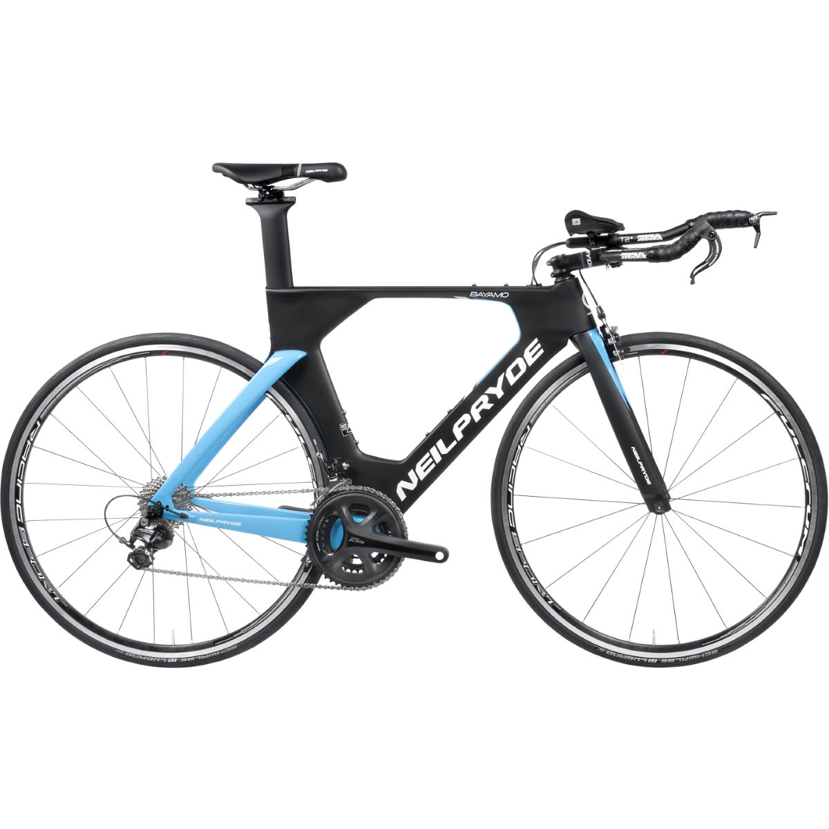 Vélo de triathlon NeilPryde Bayamo (105, 2017) - Extra Small Stock Bi Black/Blue/White Vélos de route
