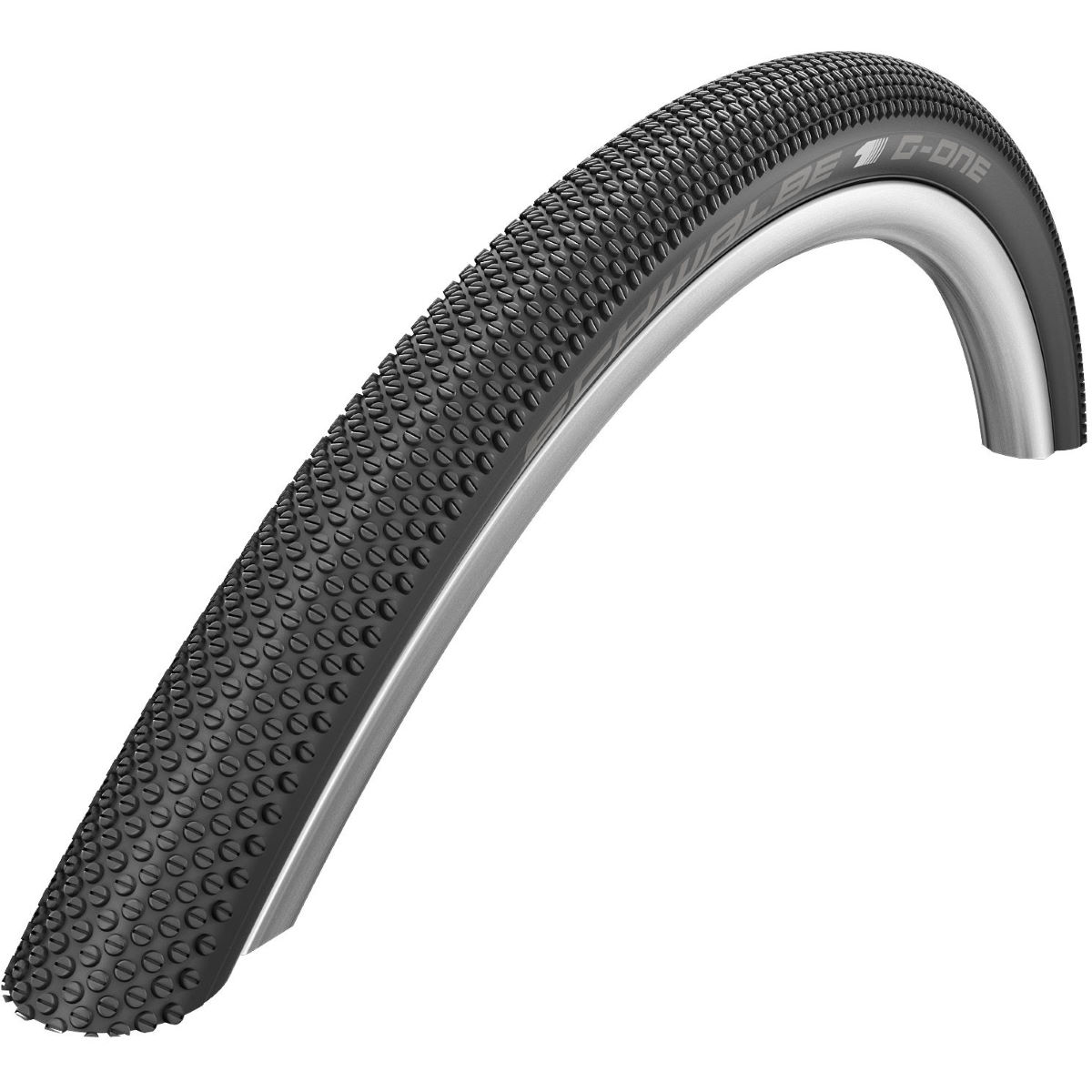 Schwalbe G-One Allround MicroSkin TL-Easy Folding Road Tyre - 35C 700c Noir Pneus VTT Slick