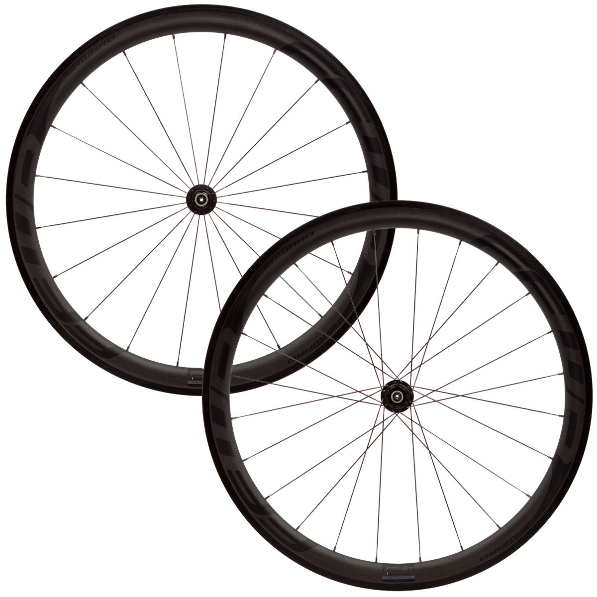 Fast Forward F4R DT180 Special Carbon Tubular Wheelset - 10/11 Speed Campagno Noir Roues performance