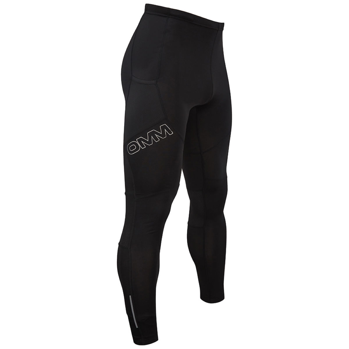 Collant OMM Flash 1,0 - XL Noir Shorts de running