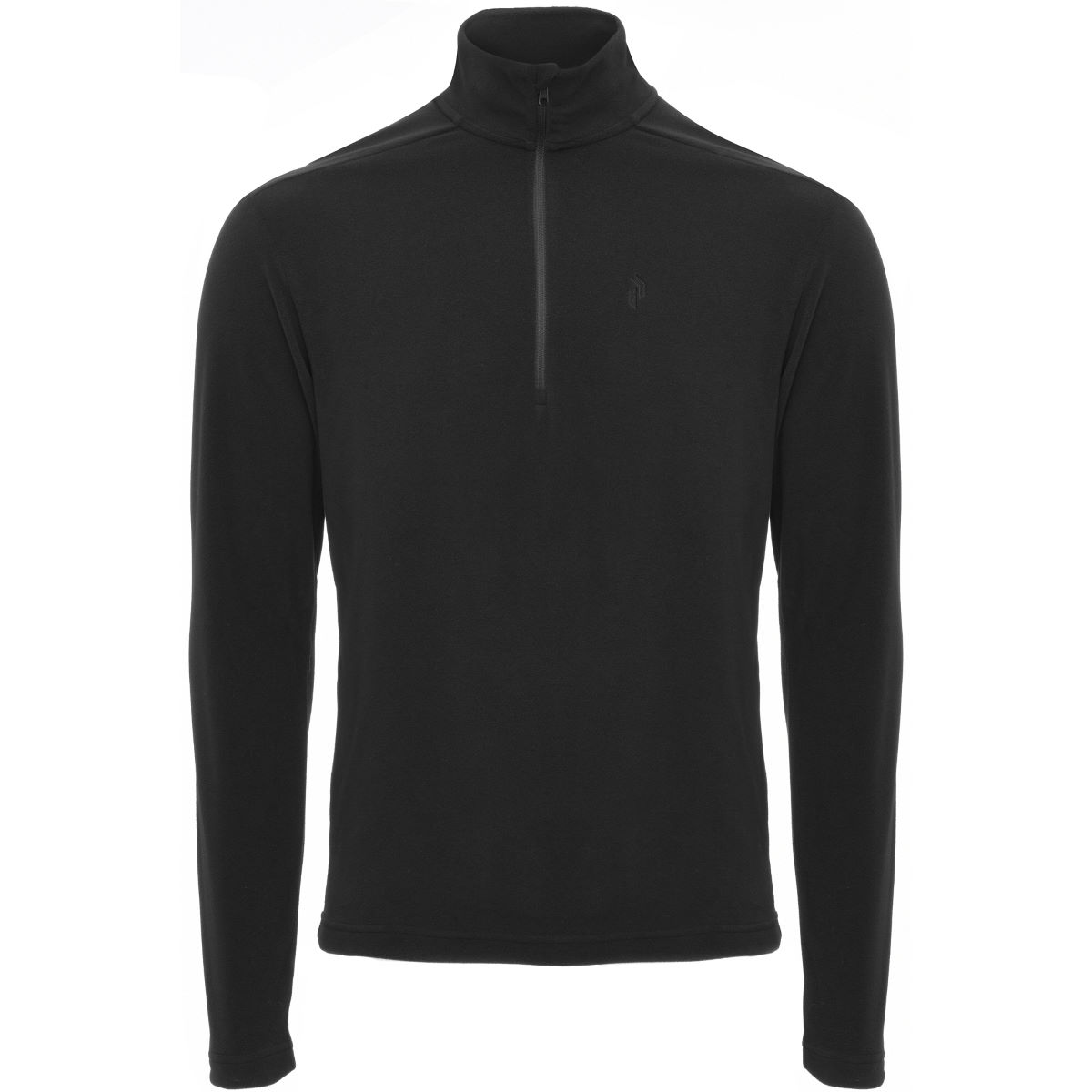 Peak Performance LT Micro Half Zip - L Black | Jumpers and Hoodies