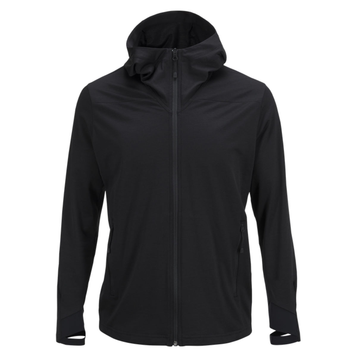 Veste Peak Performance Civil Merino (capuche) - S Noir