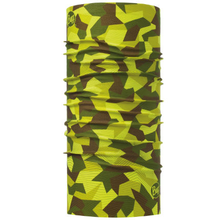 Braga de cuello Buff Block Camo Green