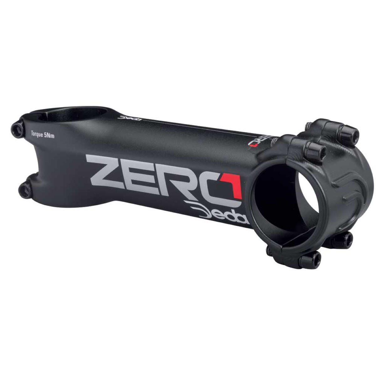 Deda Zero1  Stem - 120mm 7 degrees Black on Black | Stems