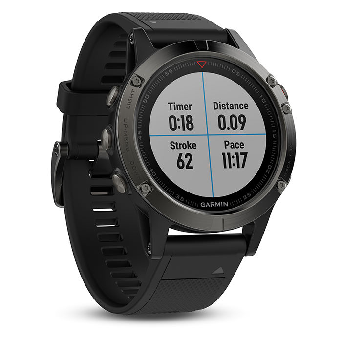 compteurs gps de running garmin fenix 5 gps watch wiggle france. Black Bedroom Furniture Sets. Home Design Ideas