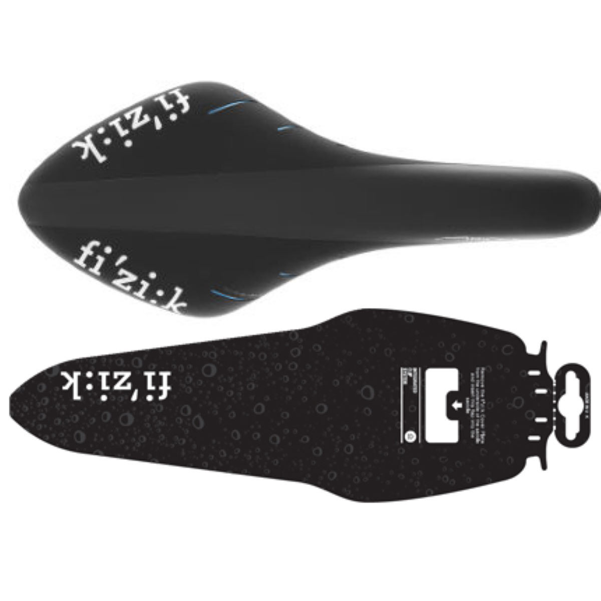 Selle Fizik Arione R1 (édition Team Sky) - Regular Noir/Bleu