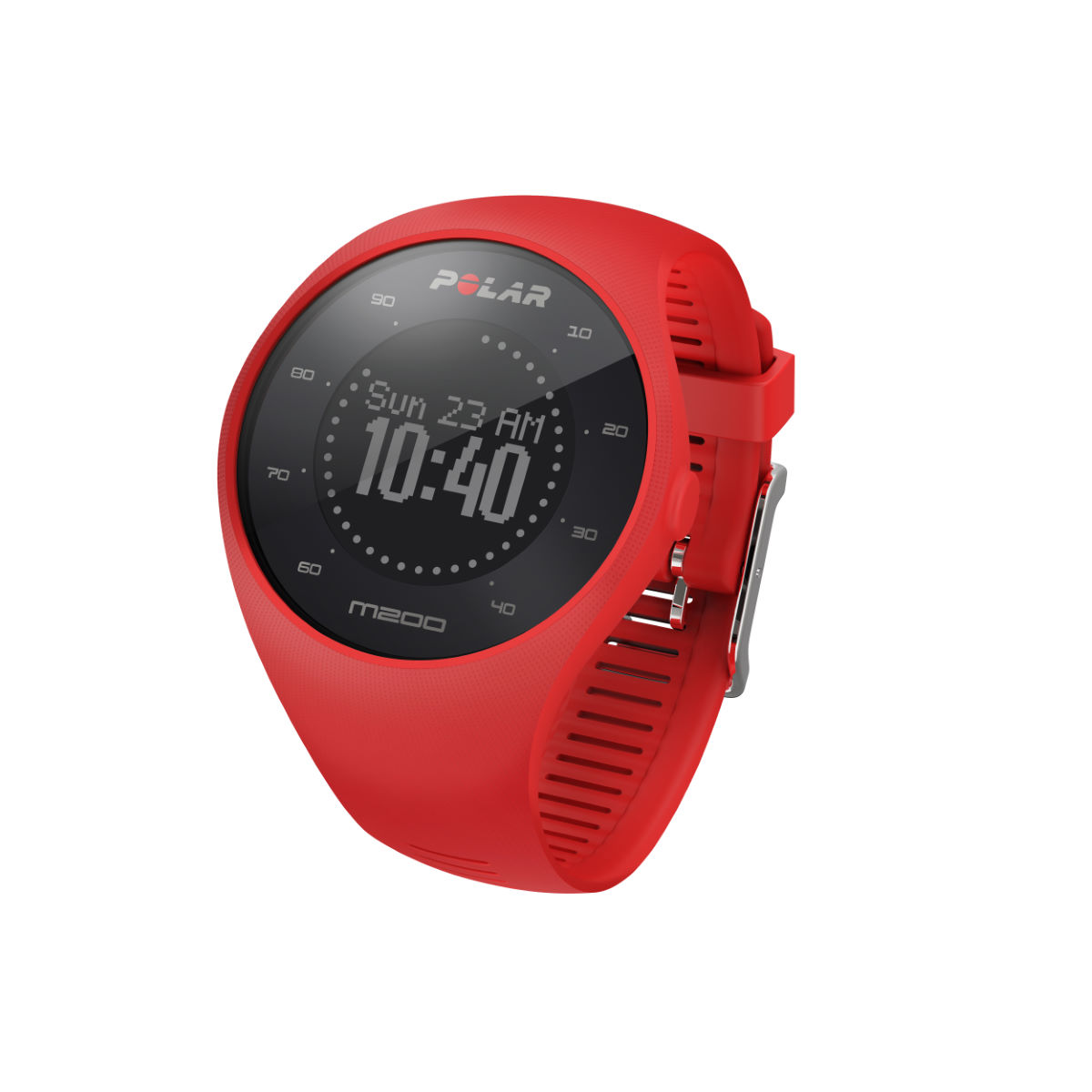 Montre Polar M200 - M/L Rouge Compteurs GPS de running