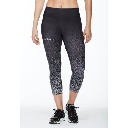 dhb Women's Print Capri (Black/Triangles)