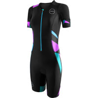 Body donna da triathlon Zone3 Activate+ (manica corta, esclusiva Wiggle)