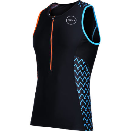 Top de triatlón Zone3 Activate+ Stripes (Exclusivo en Wiggle)
