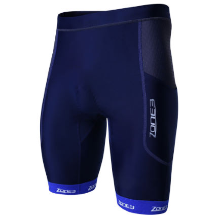 Zone3 Aquaflo+ Triathlonshorts (blå) - Herr