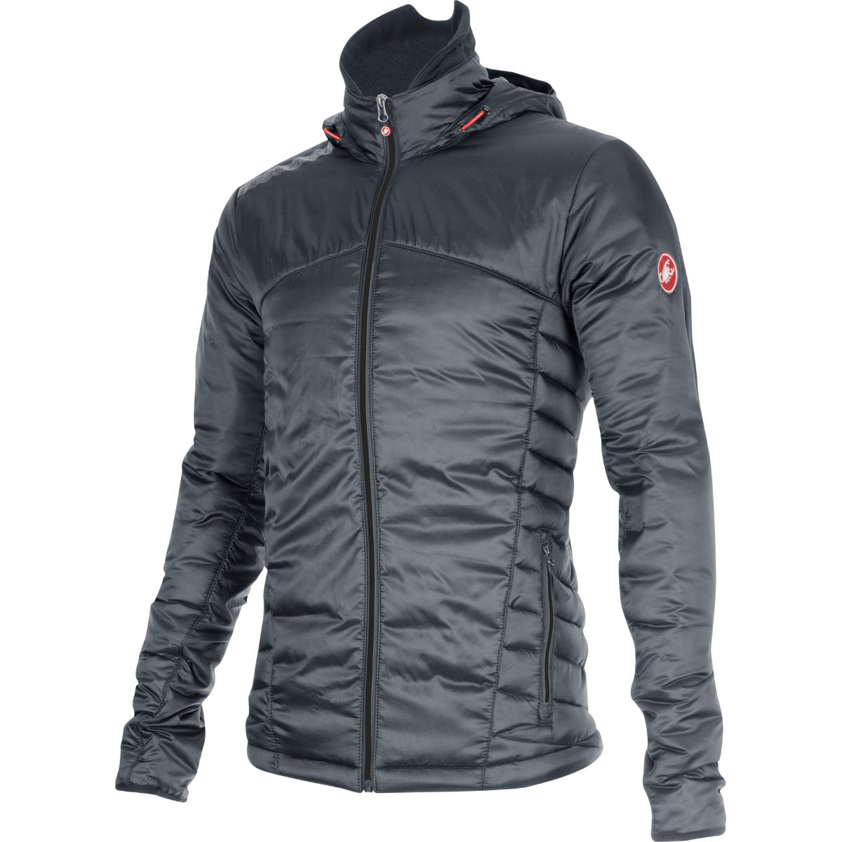 Veste Castelli Meccanico Puffy - XL Turbulence/Red