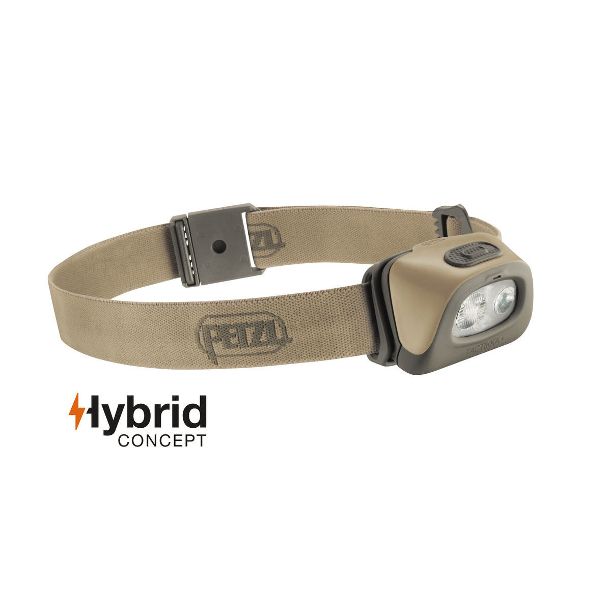 Lampe frontale Petzl TACTIKKA® + - one size Desert Lampes frontales