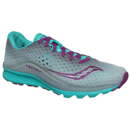 Saucony Women's Kinvara 8 Shoes Pink/White UK 8.5