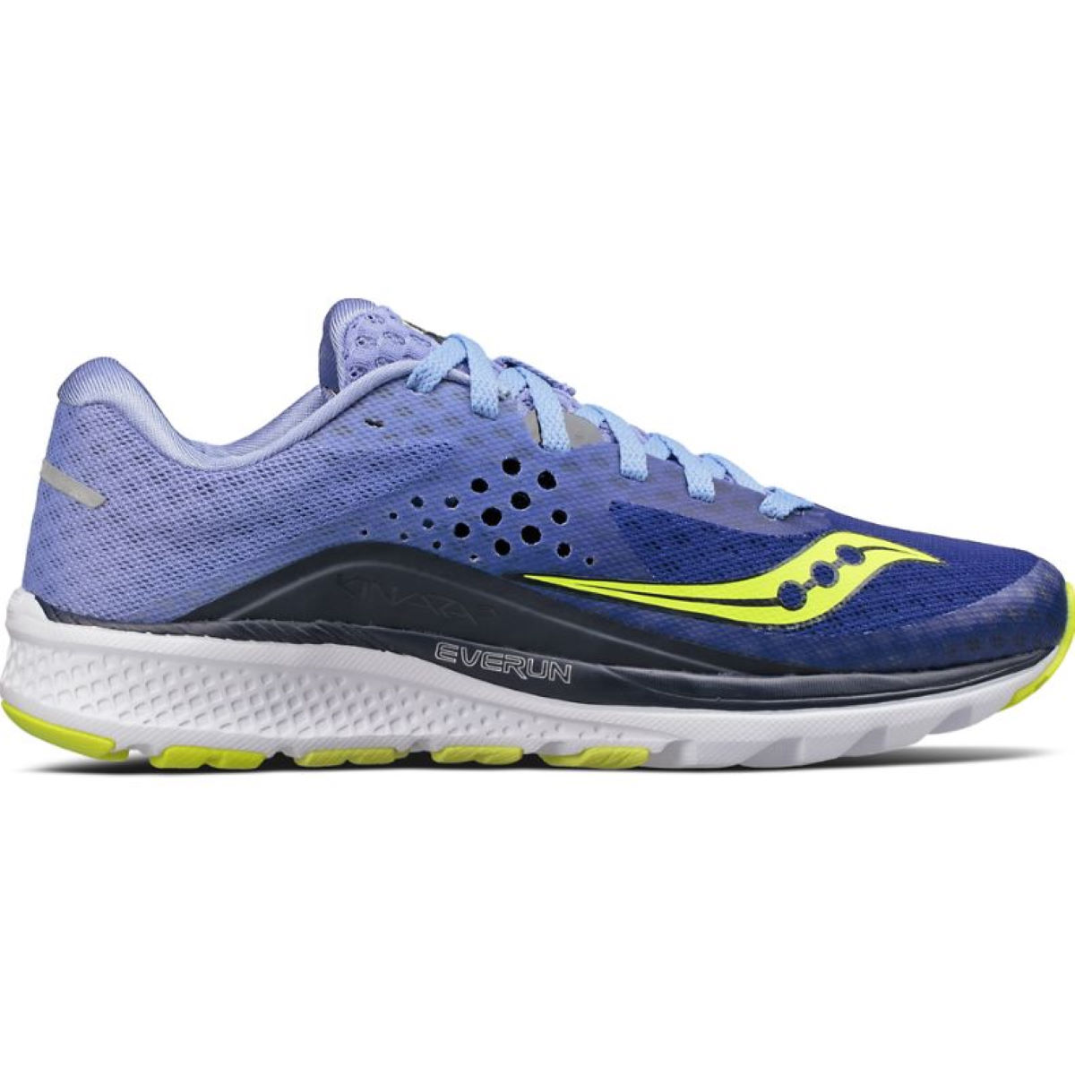 Chaussures Femme Saucony Kinvara 8 - UK 8.5 Navy/Purple
