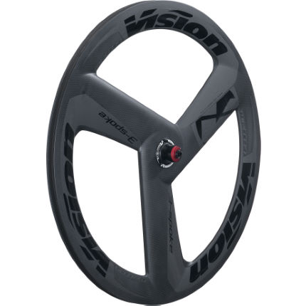 Vision Metron 3-Spoke Carbon Tubular Rear Wheel