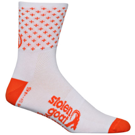 Stolen Goat Roubaix Orange Socks