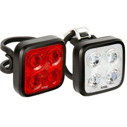 Juego de luces Knog Blinder Mob Four Eyes