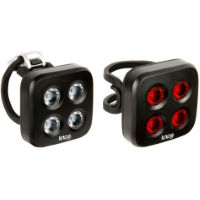 Knog Light Blinder Mob The Face voor- en achterlicht (set)