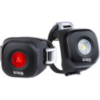 Knog Light Blinder Mini Dot voor- en achterlicht (set)