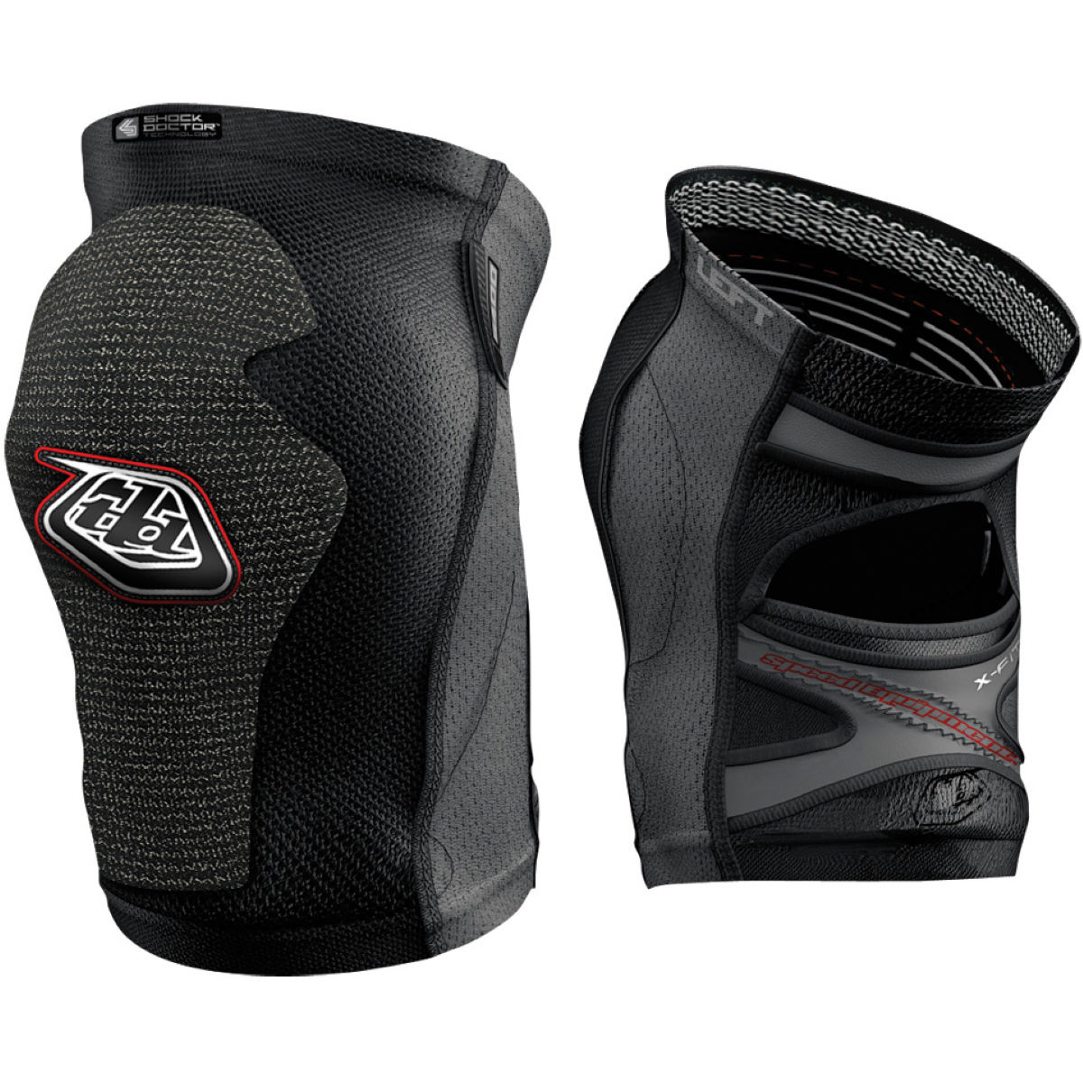 Genouillères Troy Lee Designs 5400 - XS Noir Protections