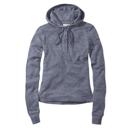 howies Women's Henrietta Hooded Knit Henley.