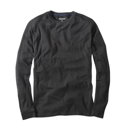howies Merino T-Shirt Long Sleeve