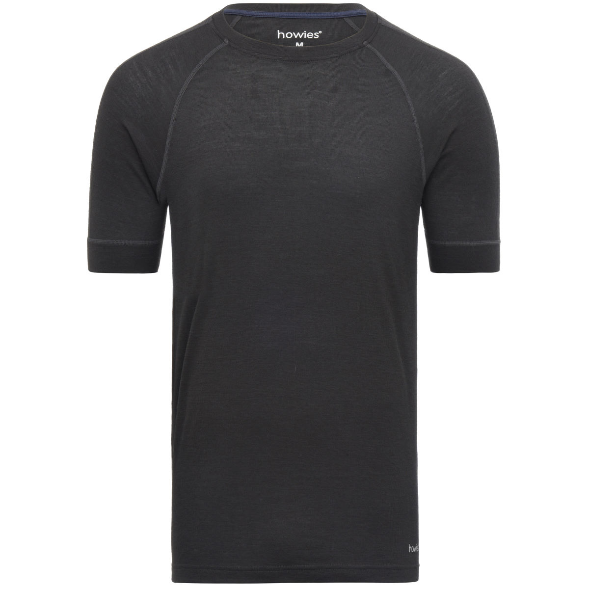 Maillot de corps howies Merino (manches courtes) - L Pirate Black