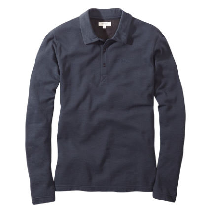 howies Merino Long Sleeve Polo Shirt