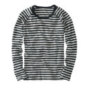 howies Womens Striped Merino T-Shirt