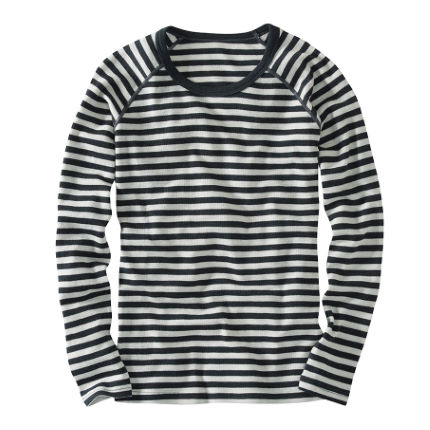 howies Women's Striped Merino T-Shirt