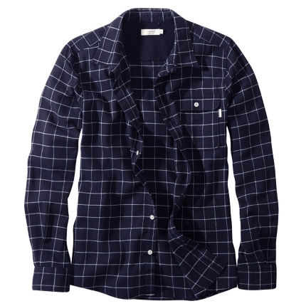 howies Payne Long Sleeve Woven Check Shirt