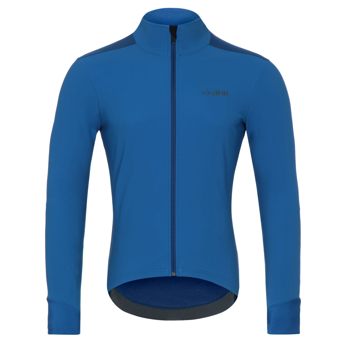 Veste dhb Aeron Hybrid Softshell - Small Blue/Blue Coupe-vents vélo