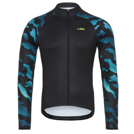 dhb Blok Thermal Long Sleeve Jersey - Camo