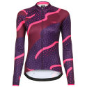 Maillot Femme dhb Blok Thermal Strata (manches longues)