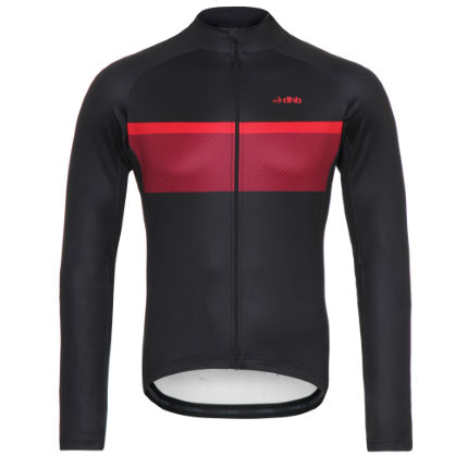 Maillot dhb Classic Thermal Stripe (manches longues)