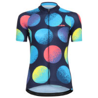 dhb Blok Womens Short Sleeve Jersey - Circles