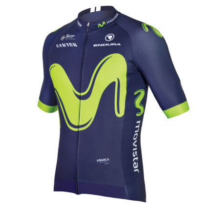 Maillot de manga corta Endura Movistar Team (2017)