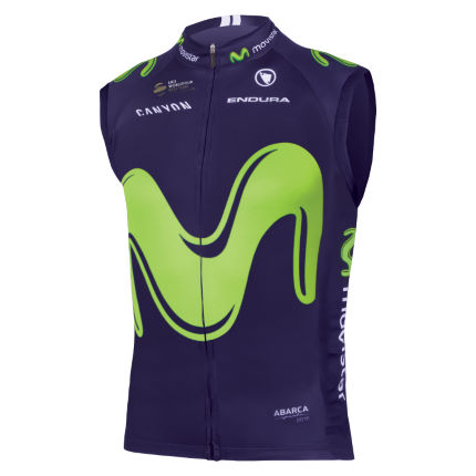 Endura Movistar Team Gilet (2017)