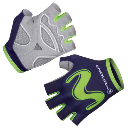Endura Movistar Team Race Handskar (2017)