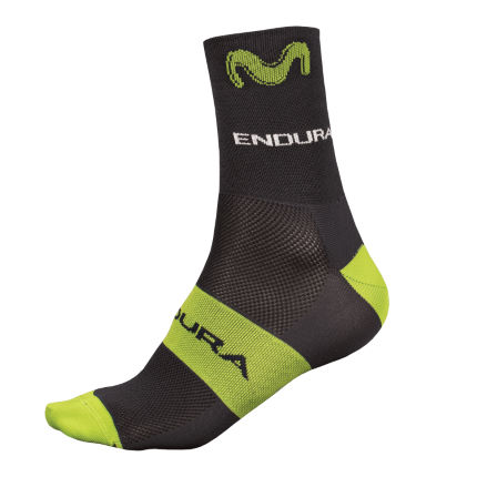 Endura Movistar Team Race Strumpor (2017)