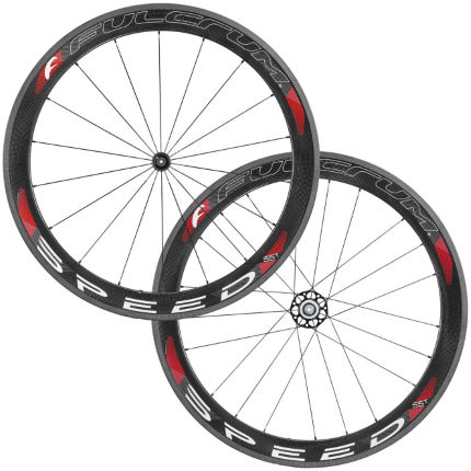 Fulcrum SPEED 55T Carbon Tubular Wheelset
