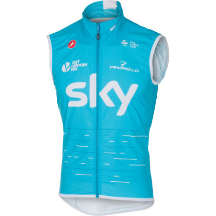 Castelli Team SKY Pro Light Wind Gilet