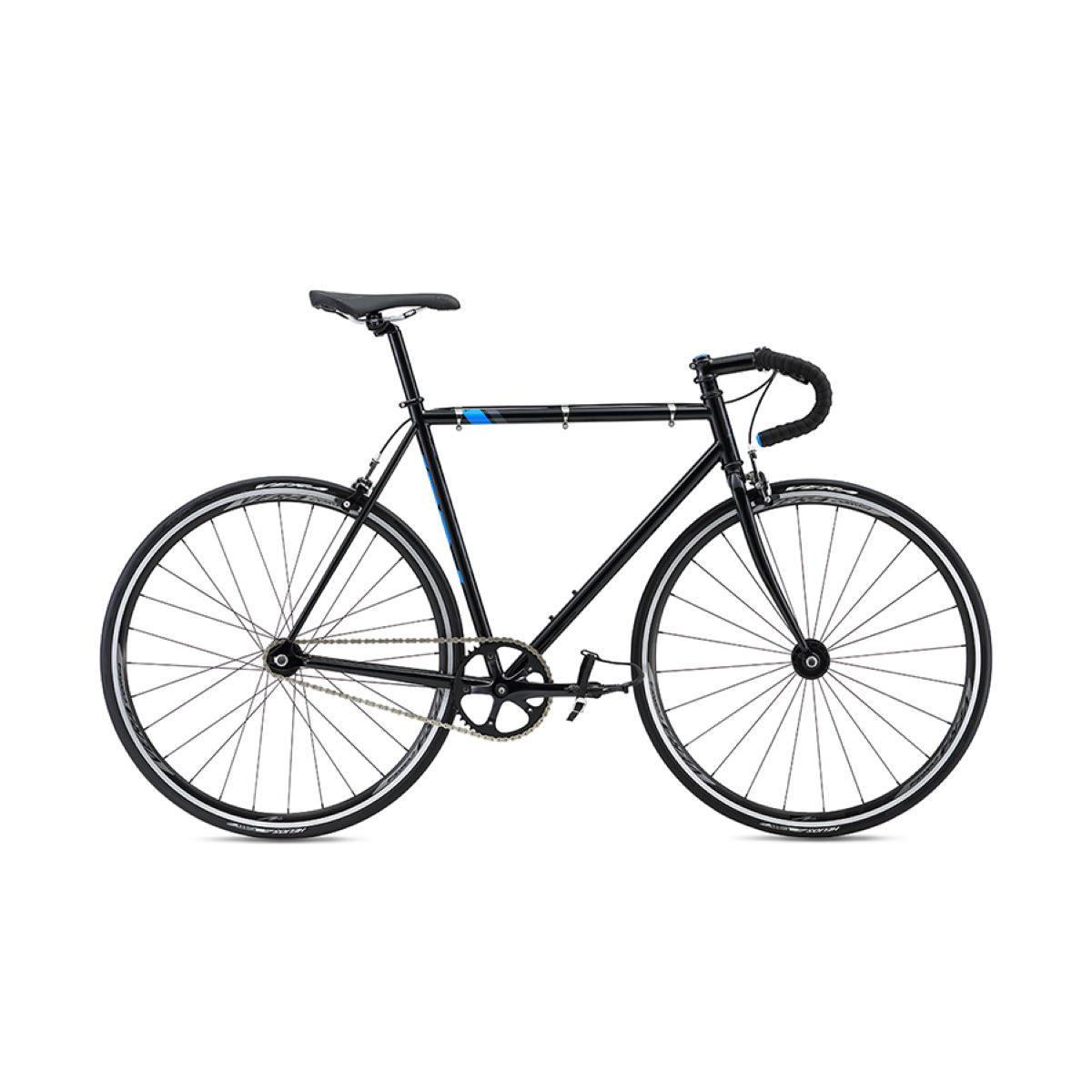 Vélo single-speed Fuji Track (2016) - 52cm Stock Bike Noir Single speed