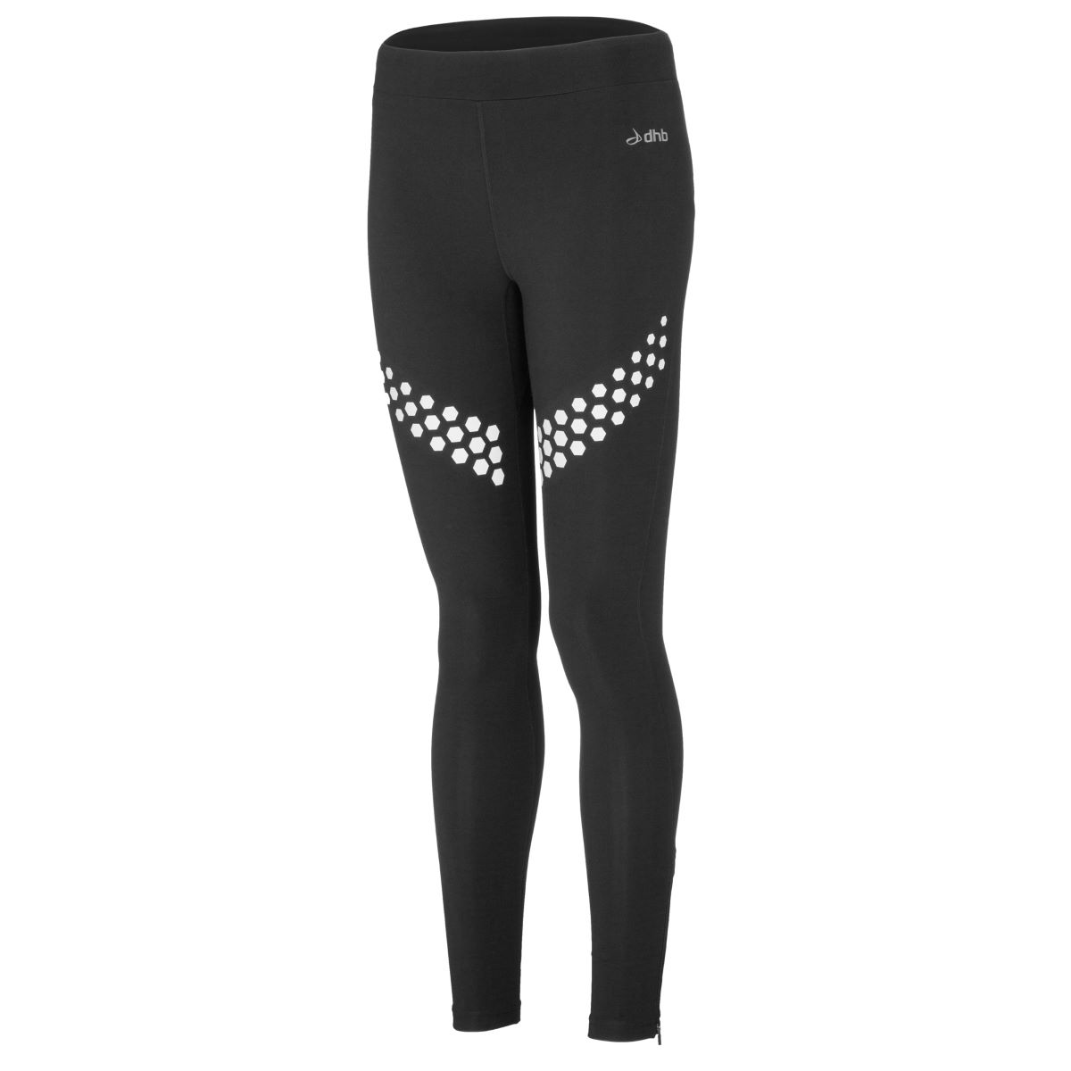 Collant Femme dhb Flashlight Run - 16 Noir Collants