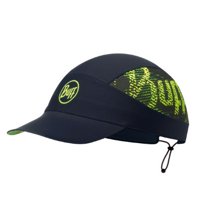 Buff Pack Run Cap (Flash Logo Black)