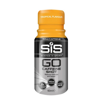 Doses de caféine Science in Sport GO Caffeine 150 mg (12 x 60 ml)