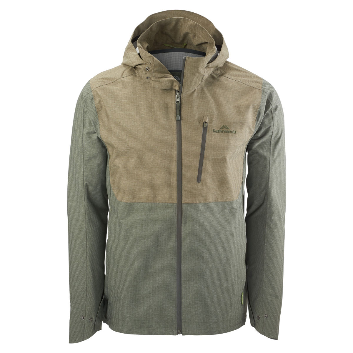 Veste Kathmandu Lawrence v2 - XL Dune/Conifer Vestes imperméables