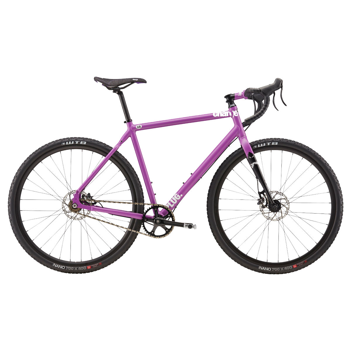 Vélo de route Charge Plug Grinduro (aventure, Single Speed) - Mauve