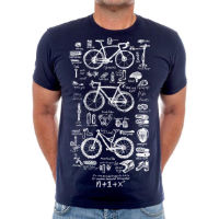 Cycology Bike Maths T-shirt - Herr